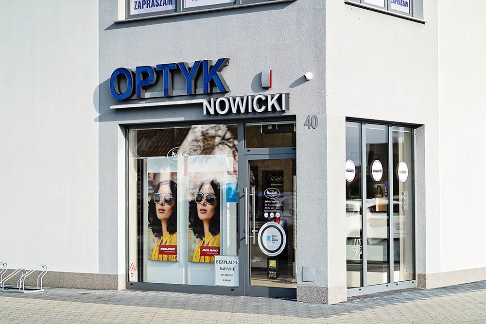 Optyk Nowicki - salon Dobrzeń Wielki